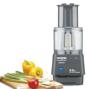 Waring Cuisinart Food Processor W/ 2.5 Qt Batch Bowl - FP25