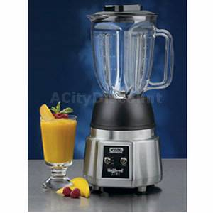 Waring BB190 NuBlend Elite 44oz Commercial Blender 120v .75HP