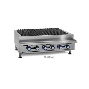 Imperial Range IRB-30 30 Commercial Gas Radiant Char Broiler Grill Counter Top