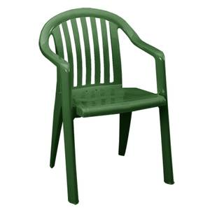 Grosfillex 4ea Miami Stack Lowback Patio Arm Chairs Amazon Green