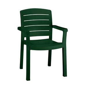 Grosfillex 1Dz Acadia Stack Patio Dining Arm Chairs Amazon Green