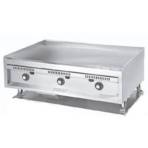 Anets 36 x 24 Manual Counter Top Gas Griddle - SLMG24X36
