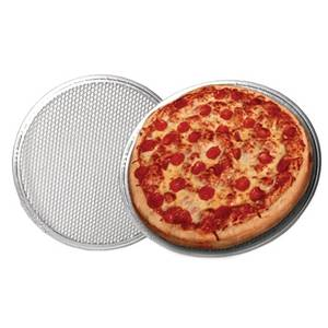 PSR115 1dz 15 Heavy Duty Crimped Pizza Screens