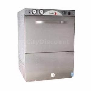 Fagor Dishwashing Undercounter Glasswasher & Dishwasher High Temp 35 Racks/ Hr - FI-64W