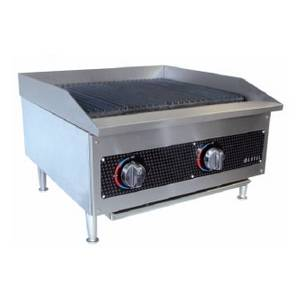 Anvil America 12 Commercial Kitchen Lava Radiant Gas Charbroiler - CBL9012