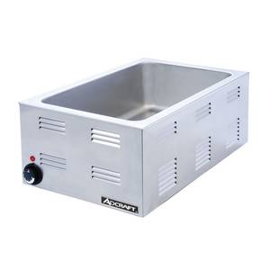 Adcraft 2.4 Cu.Ft Electric Countertop Food Warmer 120 Volts - FW-1200W