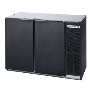 Beverage-Air BB48Y-1-B 12.1 CuFt 2-Section Refrigerated Back Bar Storage Cabinet