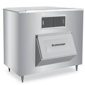 Scotsman BH1600SS-A 60in Wide Upright Ice Storage Bin Stainless 1775lb Capacity