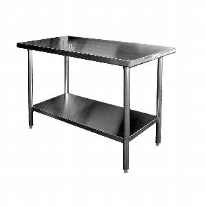WT-P2424 Premium All Stainless 24 x 24 Work Table
