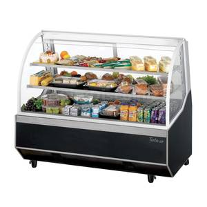 Turbo Air TD-4R 47 Refrigerated 11.7 Cu.Ft Deli Bakery Display Case