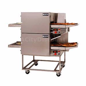Doyon Baking Equipment 19 Double Stacked Jet-Air Electric Conveyor Oven - FC182