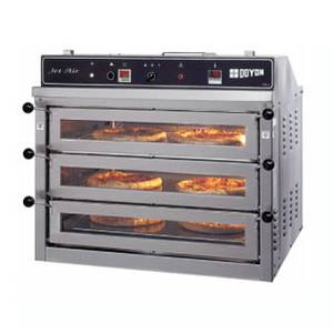 Doyon Baking Equipment 37¼ Pizza Oven Triple Deck Electric Counter Top - PIZ3