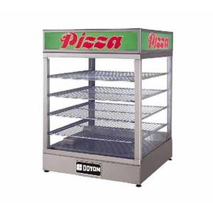 Doyon Baking Equipment 22.5in Food Warmer Pizza Display Case W/ 4 Wired Shelves - DRP4