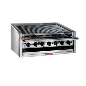 Magikitch'n APM-RMB-630 30 Low Profile Countertop Radiant Gas Charbroiler