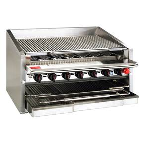 Magikitch'n 36 Countertop Radiant Gas Charbroiler - CM-RMB-636