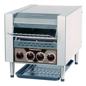 Toastmaster TC17D-120 Conveyor Toaster 120v w/ 3 Loading Height 400 Slices / Hour