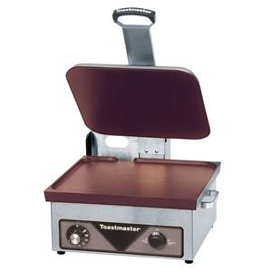 Toastmaster A710SA6 Non-Stick Electric Countertop Smooth Sandwich Panini Griddle