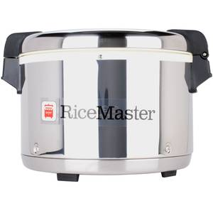 Town Food Service Equipment 56916S 18qt., S/s Rice-Master Electric Rice Warmer