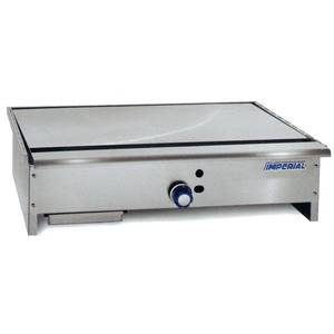 Imperial Range 36 Stainless Teppan-Yaki Gas Griddle w/ 1 Burner - ITY-36
