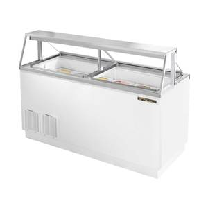 True 12 Flavor Ice Cream Dipping Cabinet Holds 20 Cans - TDC-67