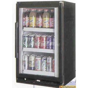 Ascend JGD-05R Cooler Merchandiser Counter Top Refrigerator NSF
