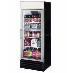 Ascend 12 Cu.Ft Commercial Cooler Merchandiser 1 Glass Swing Door - JGD-12R