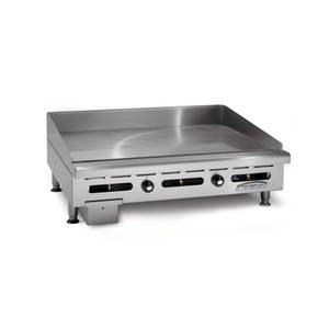 Imperial Range 72 Commercial Counter Electric Flat Griddle Therm Control - ITG 72-E