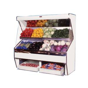Howard McCray SC-P32E-8S 32 Series 8 ft Open Merchandiser- Produce Case w/ Shelf