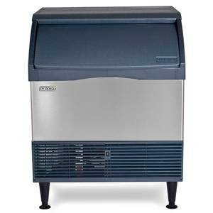 Scotsman CU3030MA-1 Undercounter 250lb Ice Maker Machine 110lb Bin Medium Cube