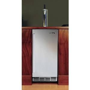 Perlick Residential 15 Signature Series Stainless Beer Dispenser - PR-HP15TS-1L