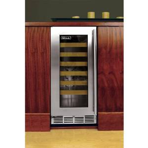Perlick Residential PR-HP15WS-3L Under Counter 42+ Bottle Wine Cooler 15 Signature Series
