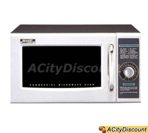 Sharp Stainless Steel Commercial Microwave Oven 1000 watts - R21LCF