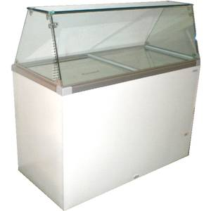 CDC-52 Classic 8 Flavor Ice Cream Dipping Cabinet 12.9 Cu.Ft