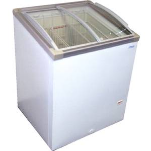 AST-30 30 Chest Freezer 5.7 Cu.Ft w/ Angle Curve Glass Top
