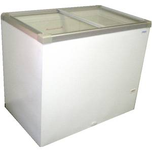 GST-41 40 Chest Freezer 10.3 Cu.Ft w/ Flat Glass Sliding Top