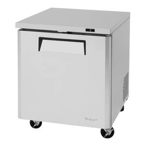 Turbo Air 28in Undercounter Stainless Steel 6.5 Cu.Ft Freezer - MUF-28