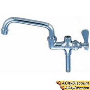 BK Resources BKF-AF-14 Add-On-Faucet For Pre-Rinse W/ 14in Swing Spout