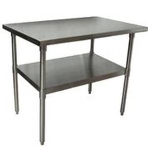 BK Resources Economy 30 x 48 Stainless Work Table w/ Undershelf - VTT-4830