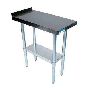 BK Resources VFTS-1824 Commercial Kitchen Stainless Filler Prep Table 18W x 24D