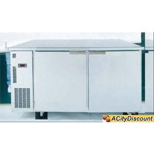 Ascend JUC-62FD Commercial 62 Undercounter Freezer 2 Door Deep 16 Cu.Ft