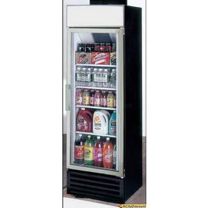 Ascend JGD-16R 16 Cu.Ft Cooler Merchandiser Refrigerator w/ 1 Glass Door