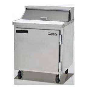 Migali Commercial 27 Sandwich Salad Prep Unit Cooler Holds 8 Pans - CA3
