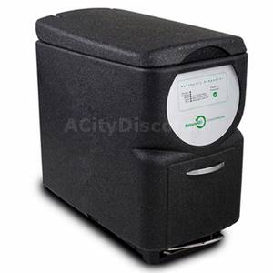 NatureMill Automatic Indoor Kitchen Composter Black w/ Foot Pedal - PRO EDITION