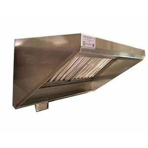 Superior Hoods 12 Ft Stainless Steel Concession Range Grease Hood NFPA96 - CS30-4-144
