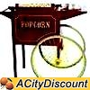 Paragon Concession Stand 12 to 16oz Popcorn Popper Cart Large - 3090010