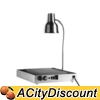 Alto-Shaam 100-HSL/TM Buffet Carving Station Stainless w/ Heat Lamp & Heated Base