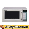 Sharp R21LVF Stainless Steel Commercial Microwave Oven 1000 Watts