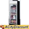 Ascend JGD-16F 16 Cu.Ft Cooler Merchandiser Freezer w/ 1 Glass Door