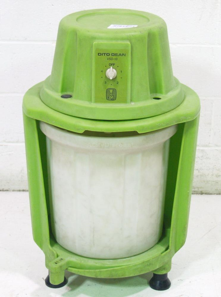 Used Dito Dean Vsd 10 Electric 10 Gallon Lettuce Spinner