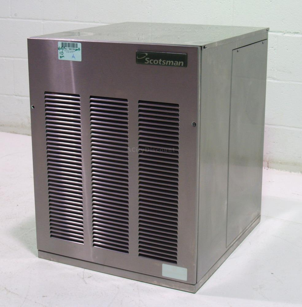 Used Ice Machine >> Used Scotsman Nme654as 1b 600lb Capacity Nugget Style Ice Machine 25in Air Cooled 160176 Sold